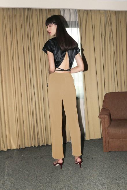 Nude Pleasant Pleats Pants