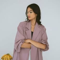 get ready to slay the last days of the week with power outfit featuring LILAC SELMA OUTER
