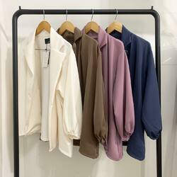 love for SELMA OUTER! who got them already??   in color white, coffee, lilac and navy
